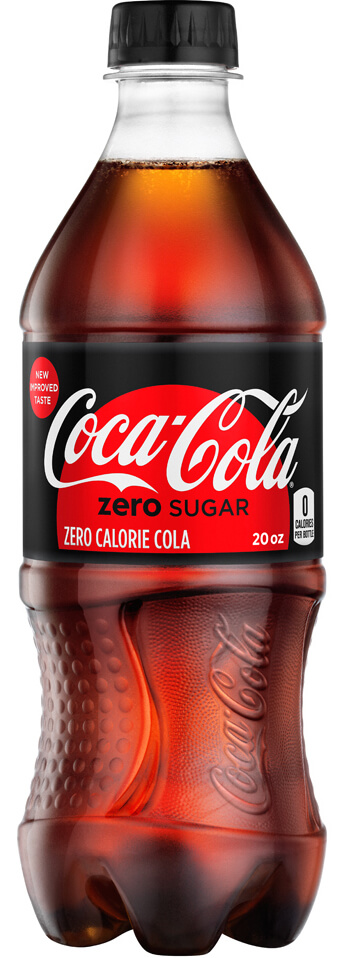 Coke Zero Sugar crop