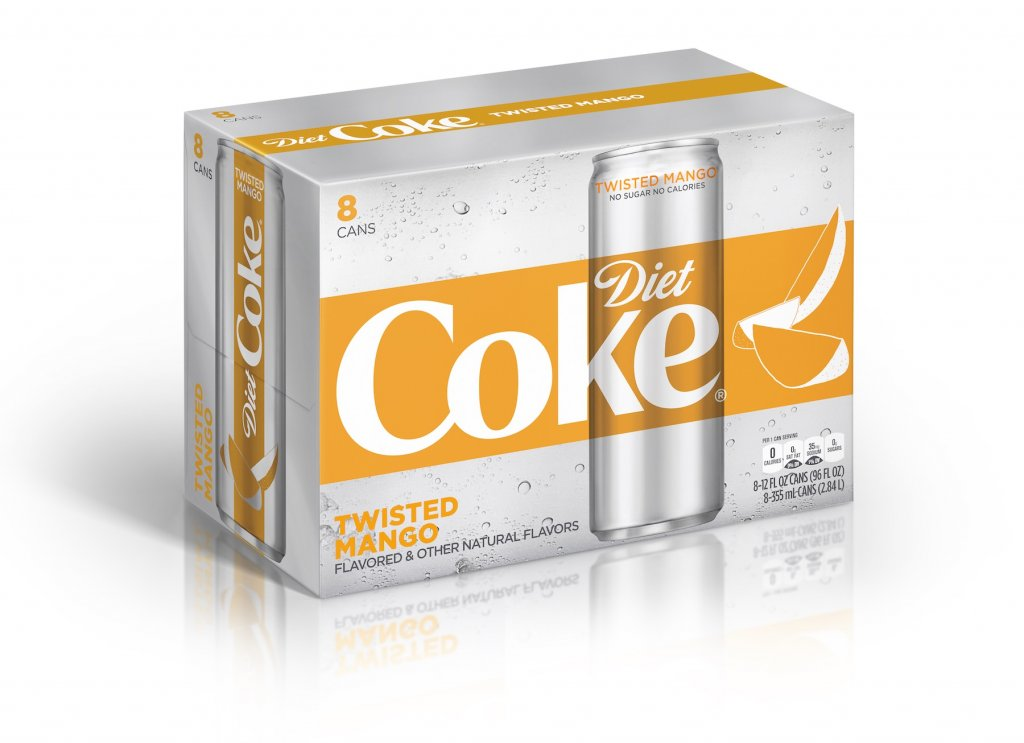 Diet Coke Twisted Mango